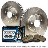 (Front Kit)2 OEM Replacement Great-Life Premium Disc Brake Rotors + 4 Semi-Met Pads(5lug)-Combo Brake Kit-[SHIPS FROM USA!!-Tax Incl.]
