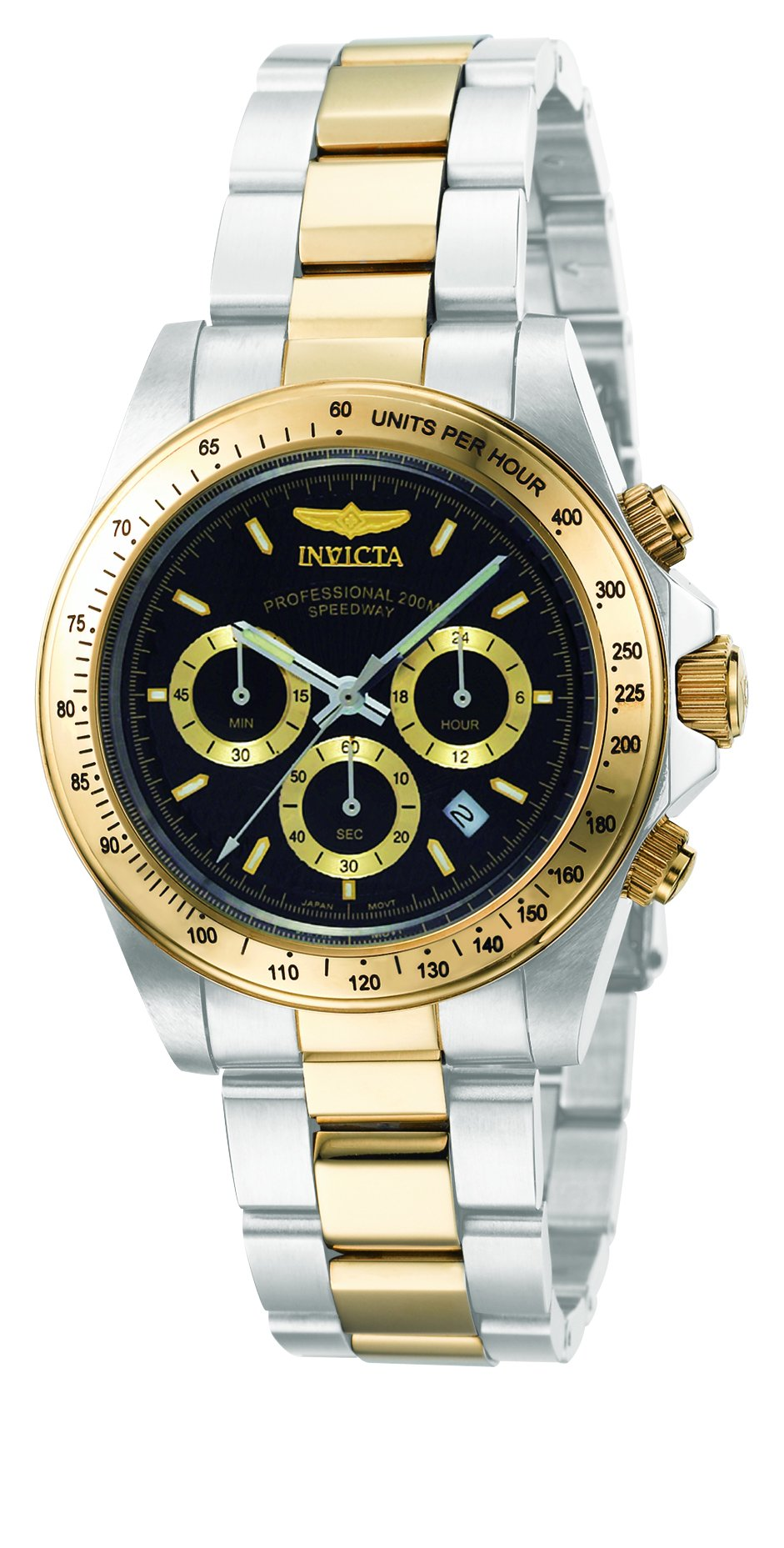 Invicta Men's 9224 Speedway Collection S Series Two-Tone Stainless Steel Watch with Link Bracelet by INVICTA