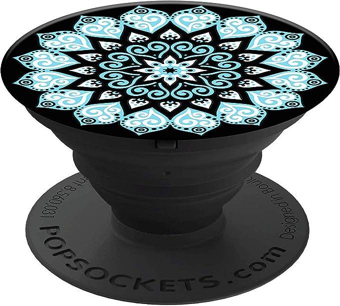 PopSockets 707128 - Soporte telescópico para Smartphones y tabletas, Estilo Mandala Sky: Amazon.es: Electrónica