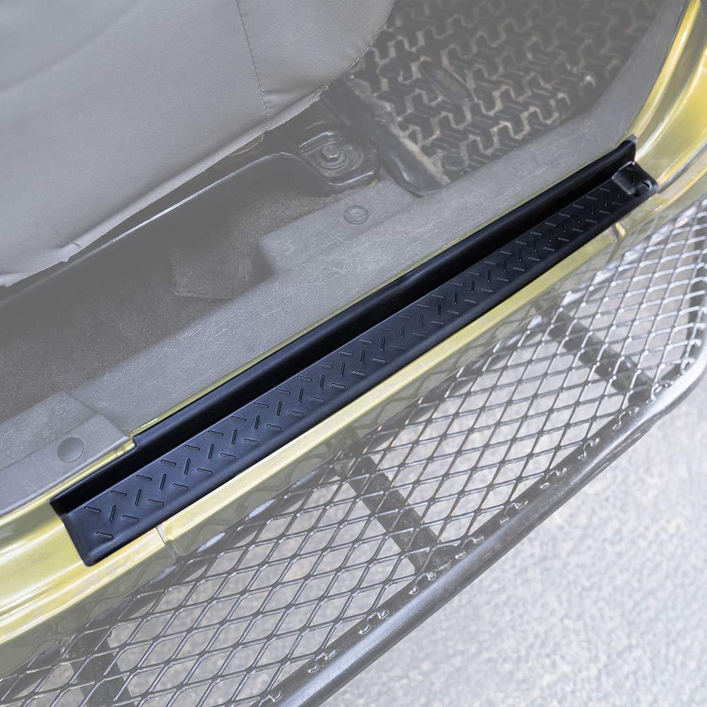 Rear Genuine Hyundai 85876-21010-BC Door Scuff Passenger Side Trim