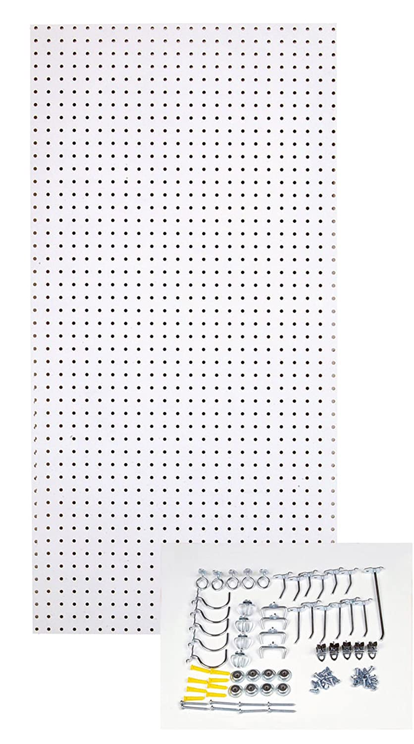Install Pegboard, Install Pegboard In Garage, Install Pegboard on Concrete, Home Decor Ideas, Home Improvement Ideas, Home Decor DIY