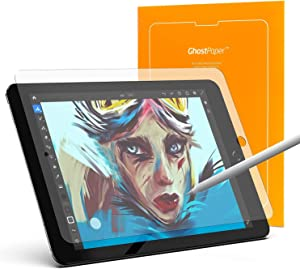 UPPERCASE GhostPaper Premium Paper feel Texture Film, Matte Screen Protector for Writing, Sketching, Drawing Compatible with 2018-2021 iPad Pro 12.9