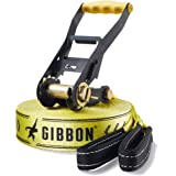 GIBBON GBCLPRO_G_15 Classic Slackline Jaune