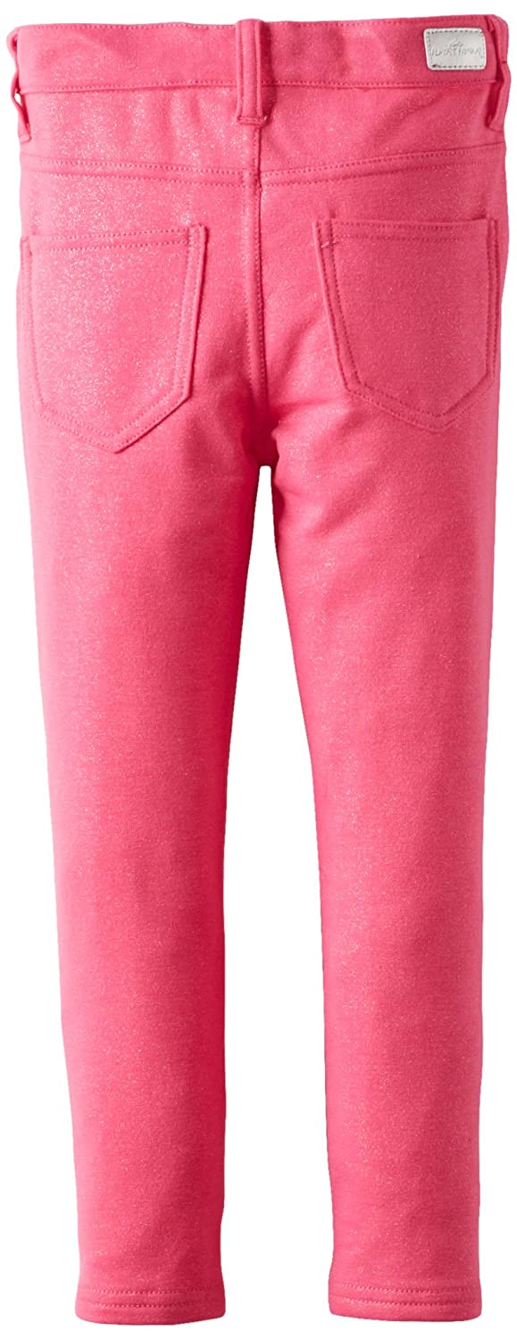 Almost Famous Little Girls Glitter Knit Pant Pink Fresh 6 Almost Famous Girls