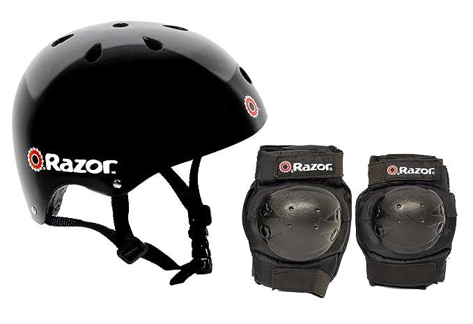 Razor Skater Multi-Sport Helmet and Pad Combo Set