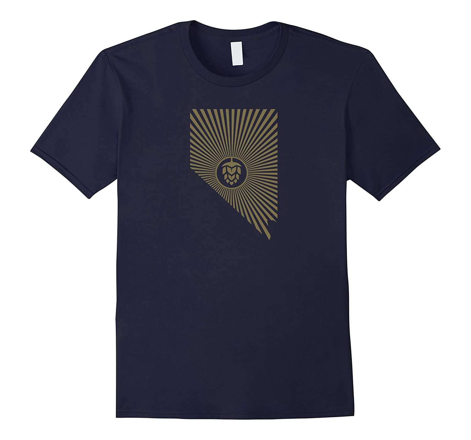 Drink Local - Drink Nevada Beer T Shirt-Vaci
