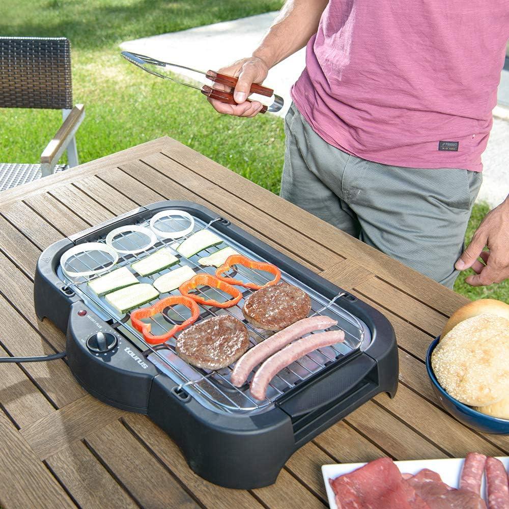 Barbecue /électrique sur pied etde table MAXIMS PLUS 968444 2000W Taurus
