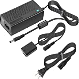 Kimaru AC-PW20 AC Power Supply Adapter NP-FW50 Dummy Battery DC Coupler Kit for Sony Alpha A5000 A5100 A6000 A6100 A6300 A640