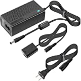 Kimaru AC-PW20 AC Power Supply Adapter NP-FW50 Dummy Battery DC Coupler Kit for Sony Alpha A5000 A5100 A6000 A6100 A6300…