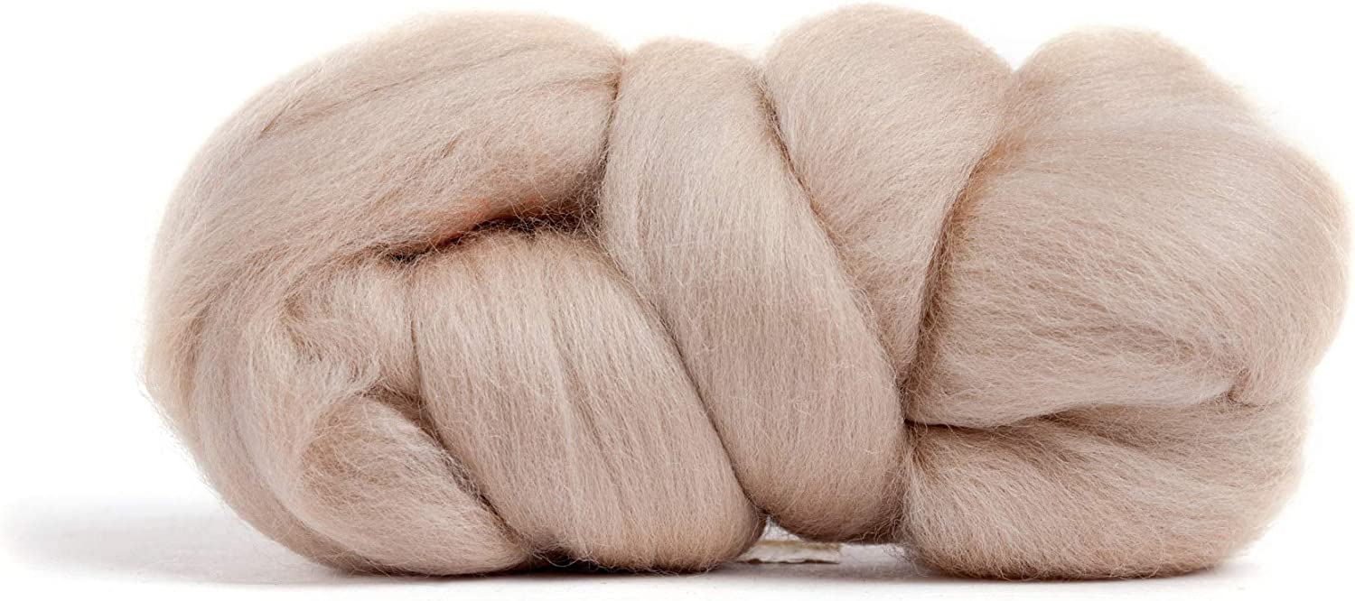 Premium Combed Top Merino Wool Roving Made in The UK 21 Micron Perfect for Felting Projects Color Kiwi Green 100/% Pure Wool