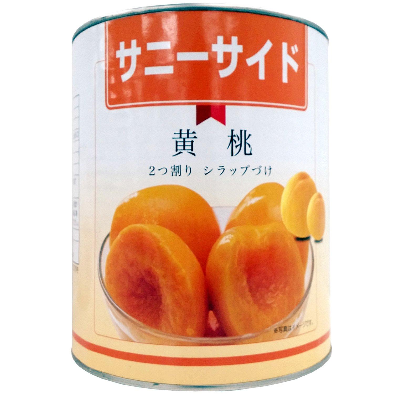 Ishimitsu Shoji yellow peach half-cut No. 1 cans 3050g
