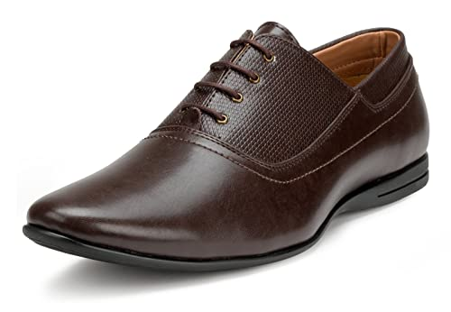 1435b52721 Escaro Men s Formal Oxford Shoes  Buy Online at Low Prices in India ...
