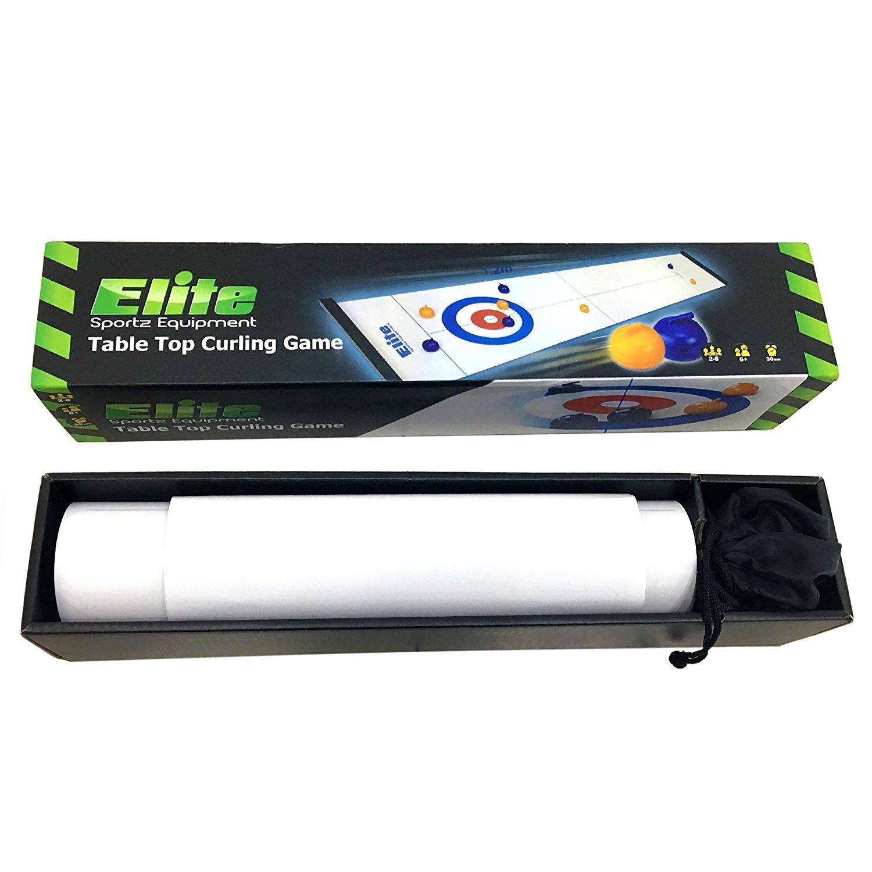 Elite Sportz Curling Juegos De Mesa Con La Familia Juegos