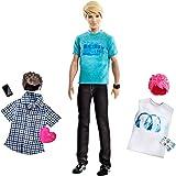 Mattel x2344 : Rendez-vous avec Barbie : La poupée Ken a 3 tenues