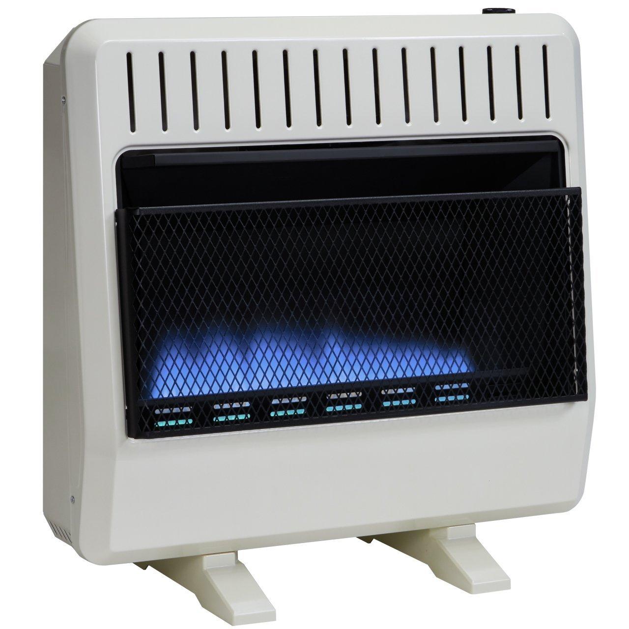 Avenger Dual Fuel Vent Free Blue Flame Heater - 30,000 BTU, Model# FDT30BF