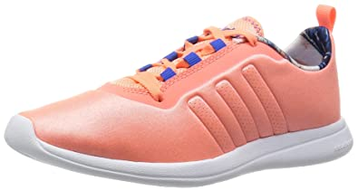 separation shoes 30df5 9869f adidas Neo Cloudfoam Pure Womens Running Sneakers Shoes-Peach-5.5