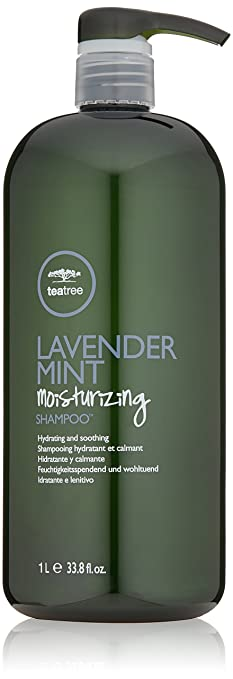 2. Tea Tree Lavender Mint Moisturizing Shampoo - Best Scalp-Invigorating Paul Mitchell Shampoo