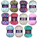 Marriner Mermaid Bumper Pack | Double Knit Yarn | 100% Acrylic | 5 x 100g Balls