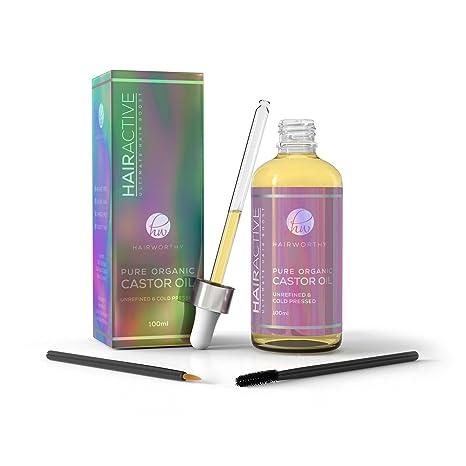 Hairworthy – Aceite de Castor 100% Puro, Orgánico, Prensado En Frío y Natural