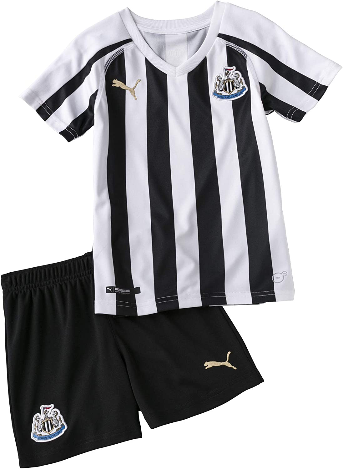 NEW Newcastle United FC Boys T Shirt Age 5 6 Yrs Kids Official NUFC Football Top