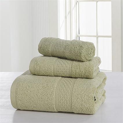 DACHUI Toalla de algodón square juego de toallas de baño, toalla de baño, suave
