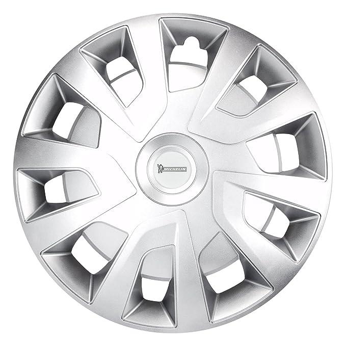 Michelin 92023 Tapacubos Michelle para Transporter, Van y caravanas, 4 Piezas, 40,6 cm Reflector Sistema n.v.s, Plata, 4 Unidades, 16 Pulgadas: Amazon.es: ...