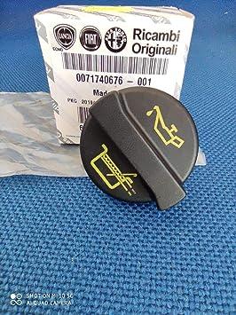 71740676 Oil Filler Cap Compatible for 500 Grande Punto Evo Panda Idea
