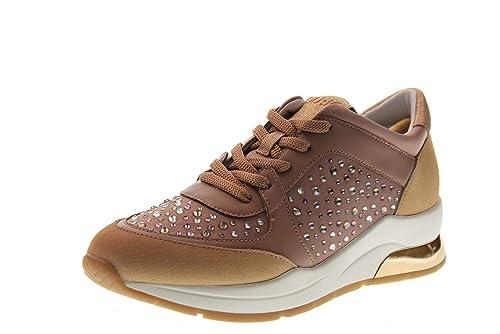 LIU JO Zapatos Mujer Zapatillas Bajas con cuña B19007 TX003 Karlie 12: MainApps: Amazon.es: Zapatos y complementos