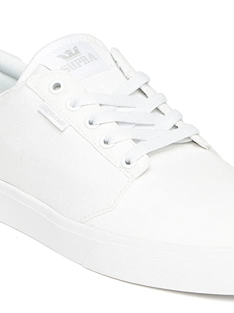 Supra Men White Yorek Low Sneakers Buy Online At Low Prices In