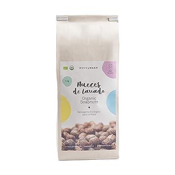 ce239f00d Move & Wash 1 kilo de Nueces de lavado de cultivo orgánico en bolsa de papel