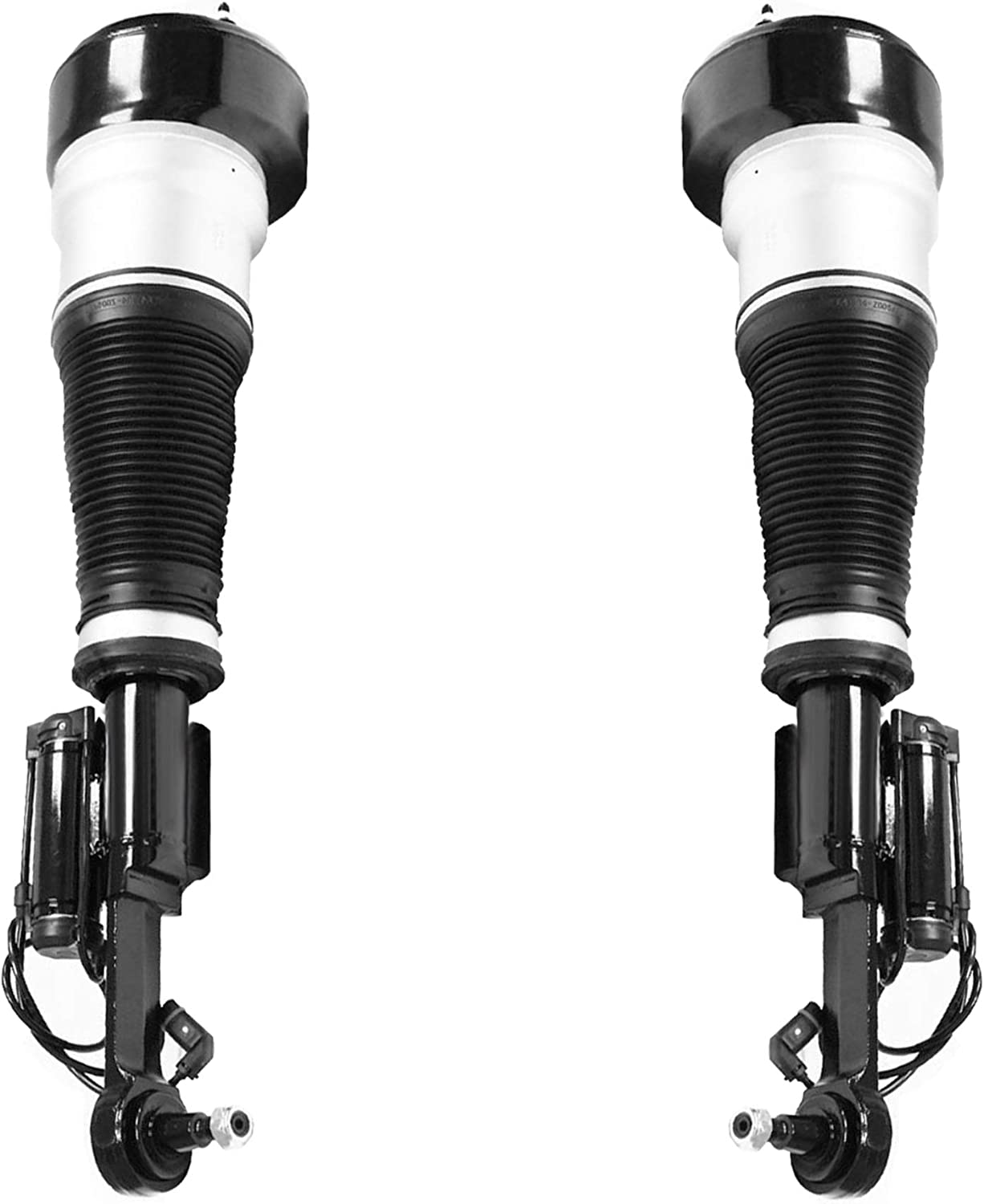 Unity Automotive 2-28-113701-28-113702 Front Replacement Electronic Air Strut Assembly Kit Fits 2009-2013 Mercedes-Benz CL550