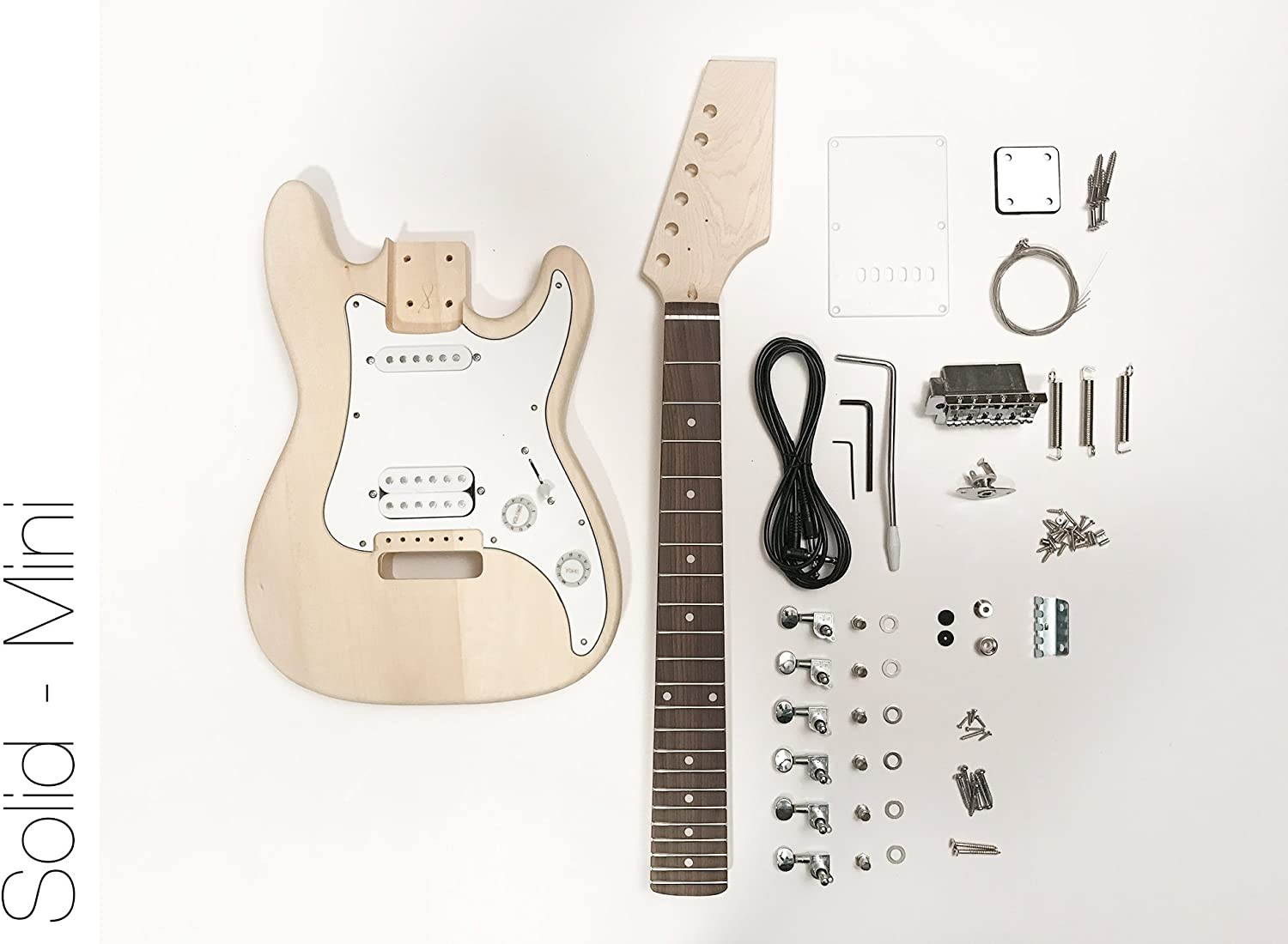 DIY – Kit de guitarra eléctrica (Mini Strat estilo construir tu ...