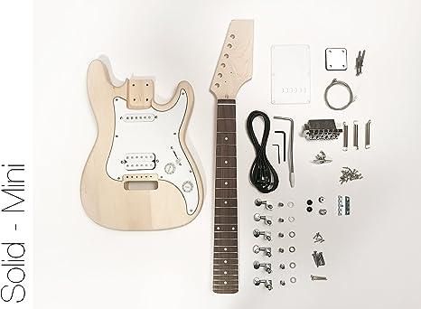 DIY – Kit de guitarra eléctrica (Mini Strat estilo construir tu ...