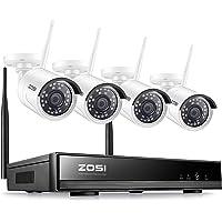 ZOSI Kit de Cámaras de Seguridad WiFi 1080P