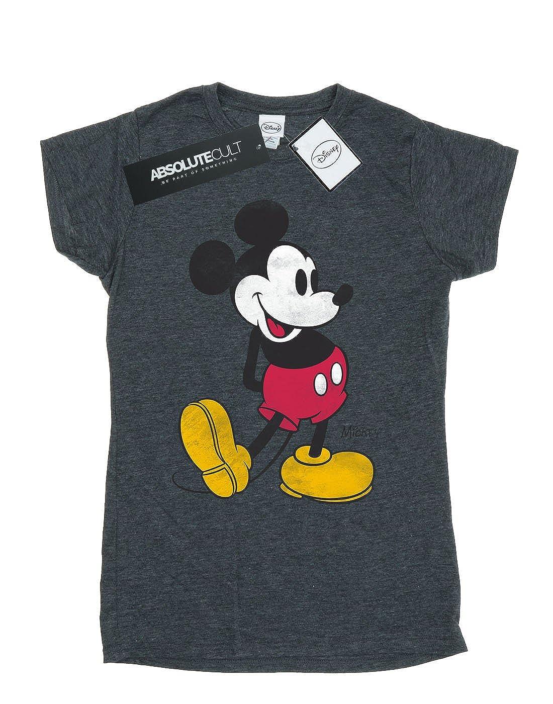 60476d8a Amazon.com: Disney Women's Mickey Mouse Classic Kick T-Shirt: Clothing
