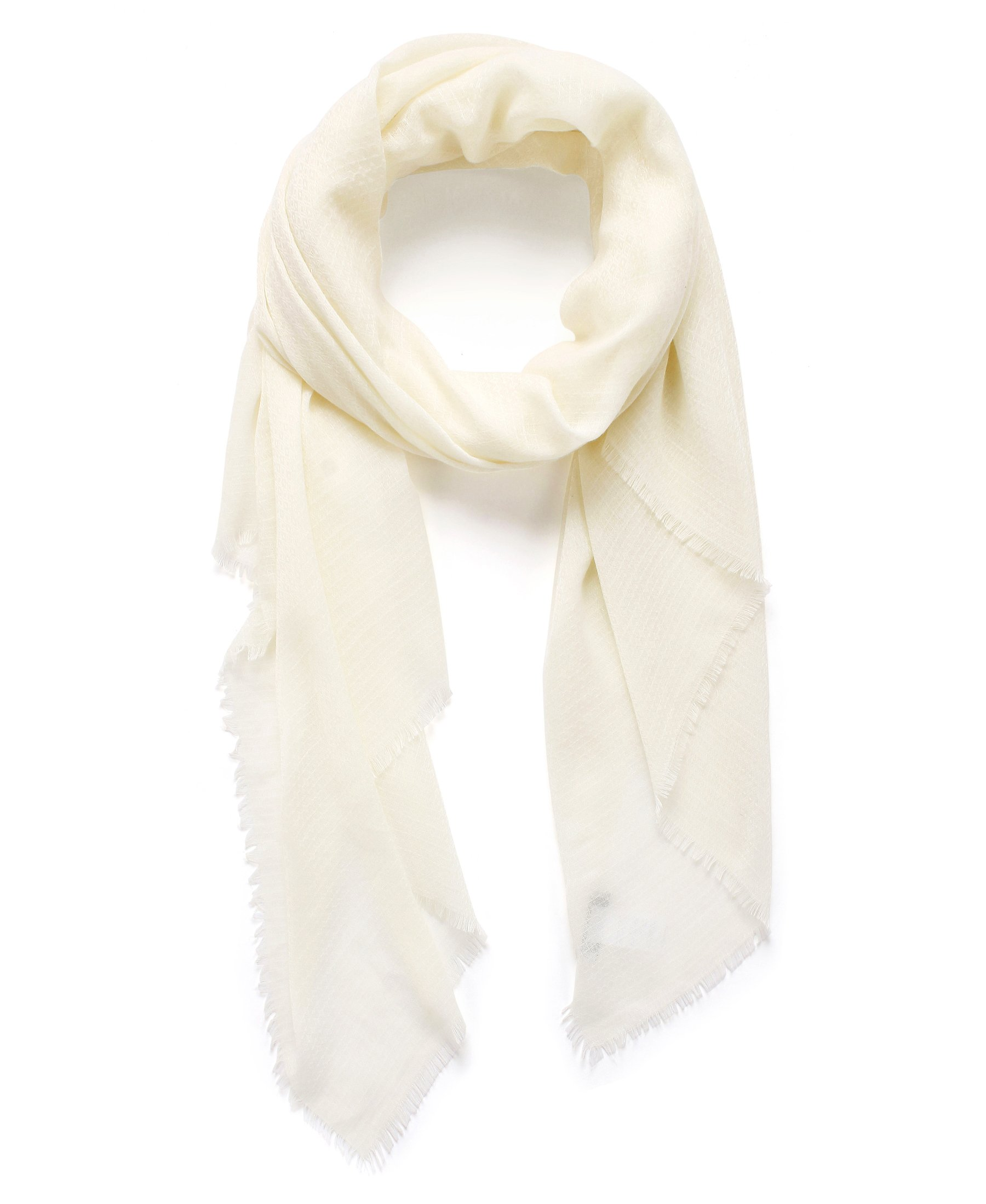 EUPHIE YING Rich Solid Color Lightweight Scarves High Fashion Sparkle Shawl Wrap For Women