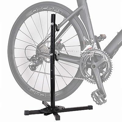 Adjustable Bicycle Parking Rack Bike Repair Stand Bike Maintenance Rack Bracket