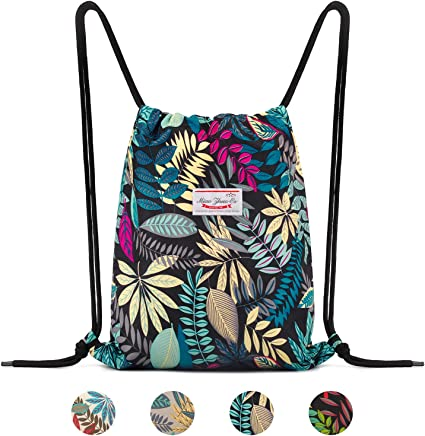 The Simple Things Life Drawstring Backpack Sports Athletic Gym Cinch Sack String Storage Bags for Hiking Travel Beach