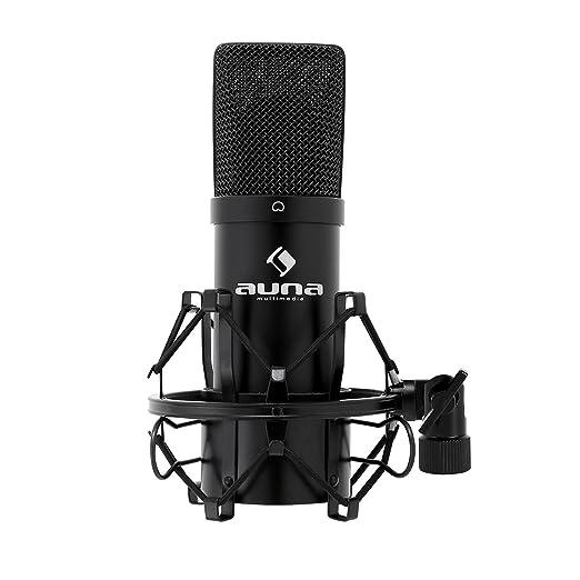 140 opinioni per auna MIC-900B microfono a condensatore (capsula elettrete di 16mm, USB, staffa