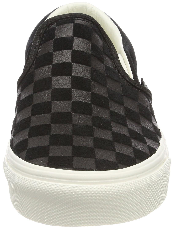 Vans Unisex Classic (Checkerboard) Slip-On Skate Shoe B074HCH7Q5 / 11.5 M US Women / B074HCH7Q5 10 M US Men|Black/Marshmallow 943754