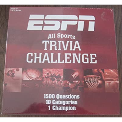 USAOPOLY ESPN Trivia Game: Toys & Games