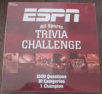 Amazon Com Usaopoly Espn Trivia Game Toys Games