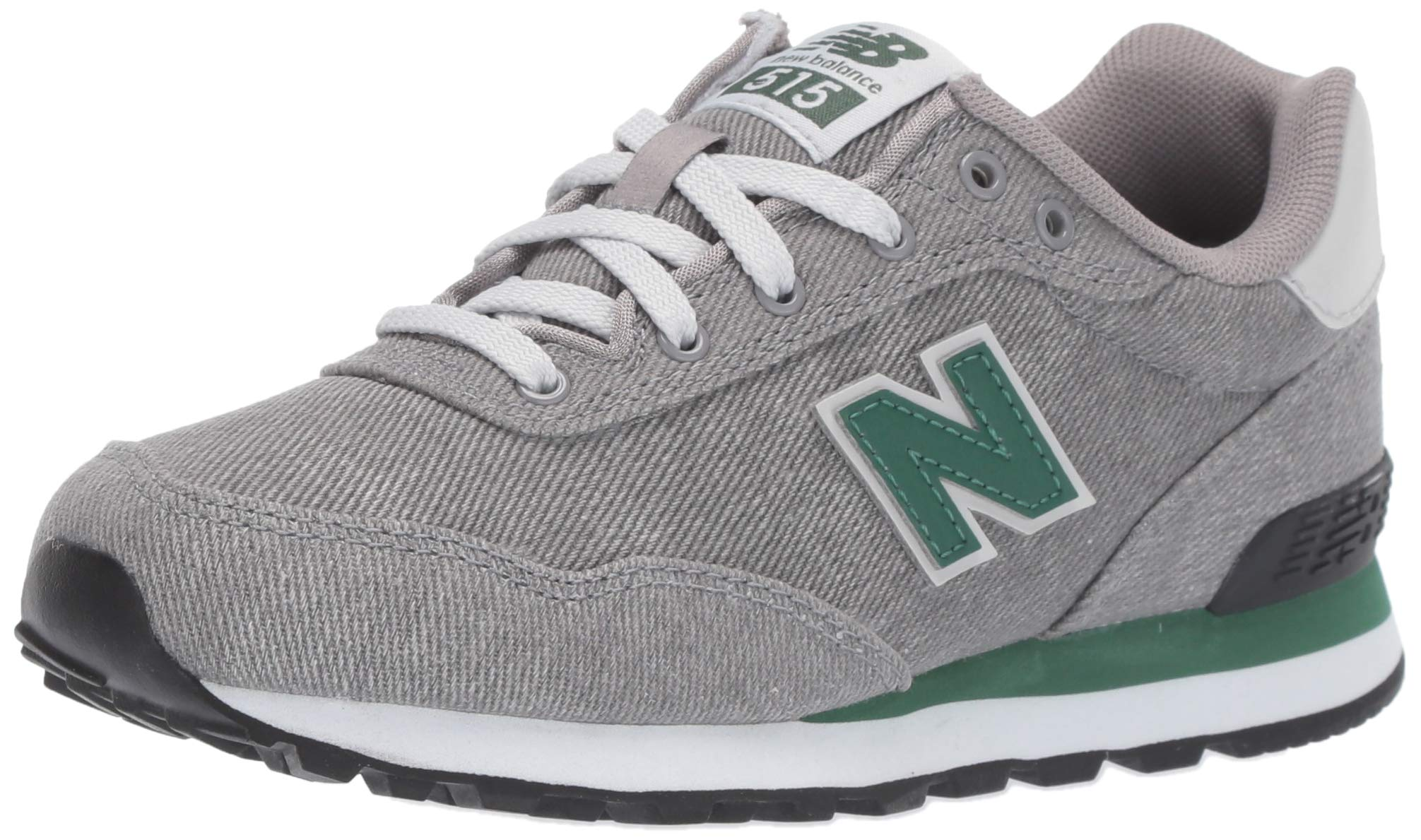 New Balance Boys' 515v1 Running Shoe, Marblehead/Team Forest Green, 5 M US Toddler
