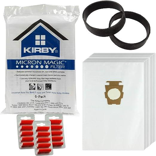 Kirby G10 g10e G10SE aspirador auténtica Hepa bolsas de polvo ...