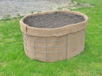 Gartenallerlei Kokos Hochbeet Oval Gr 1 Amazon De Garten