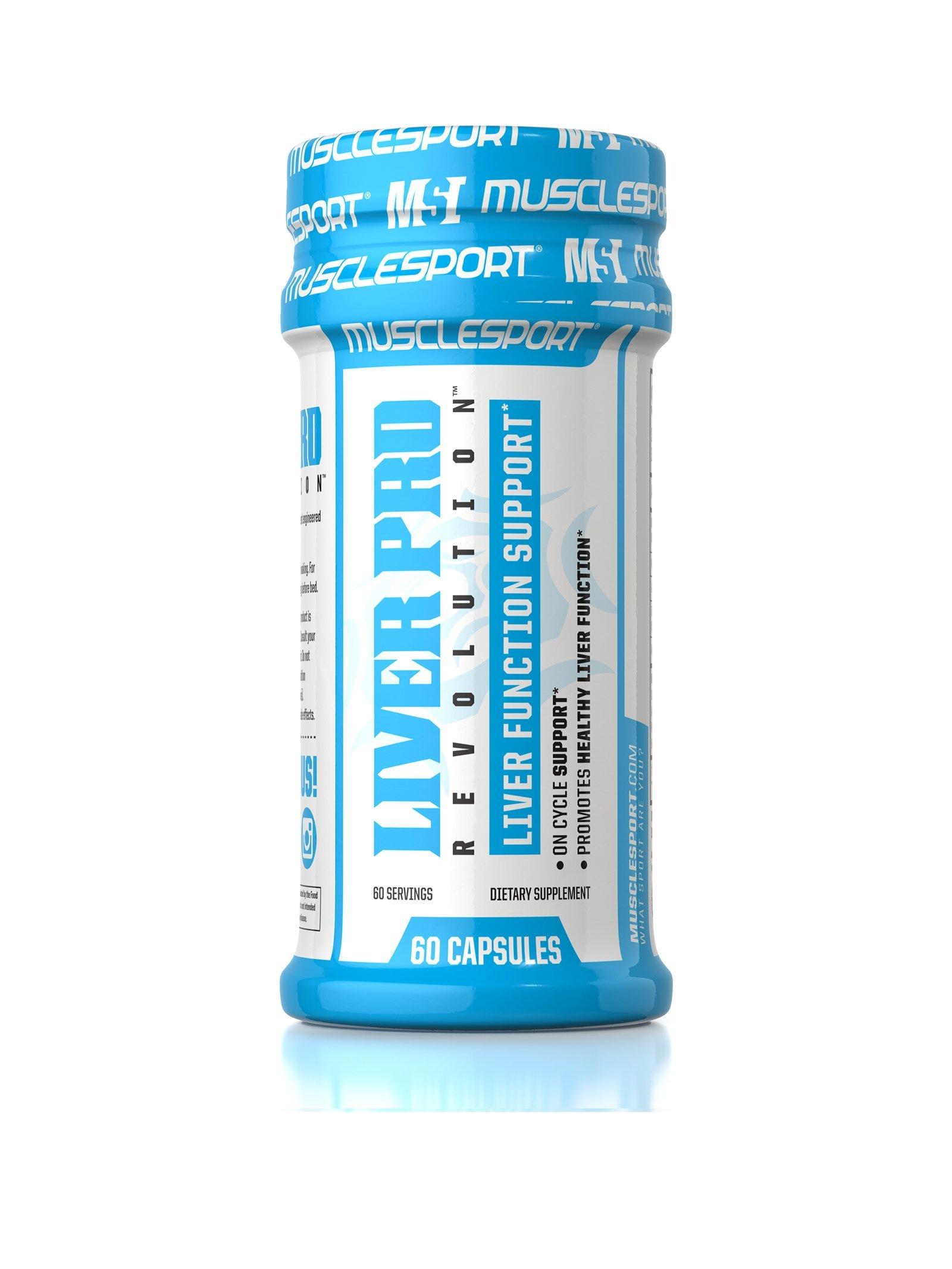 Musclesport Liver Pro Revolution™ 60 Capsules, Liver Detox & Regeneration System