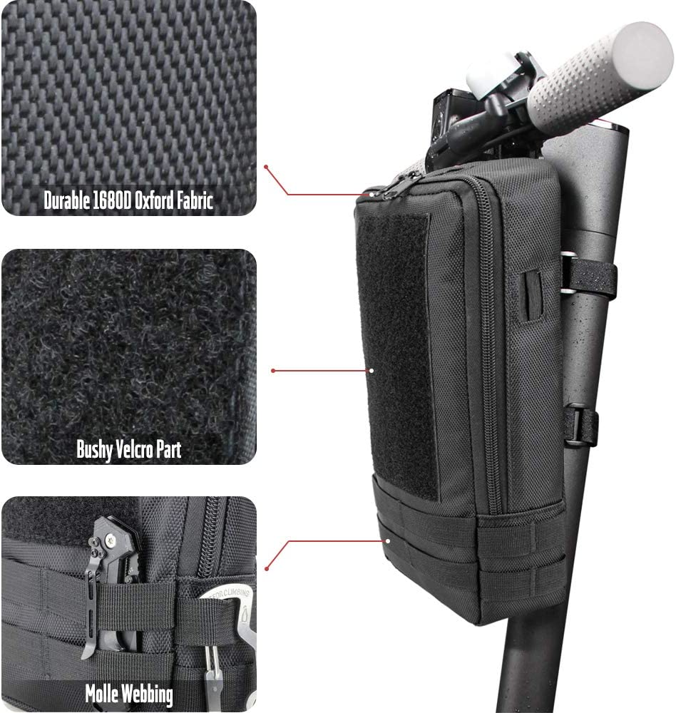 ES Seway Scooter Storage Bag for Xiaomi M365 ES Series Compatible Xiaomi Mijia M365 Electric Scooter Front Hanging Bag Durable EVA Fit for Carring Charger Tools