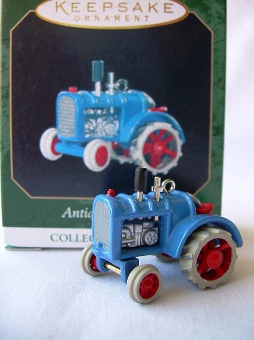 Hallmark Keepsake Ornament Miniature ANTIQUE TRACTORS 1st In Series New 1997