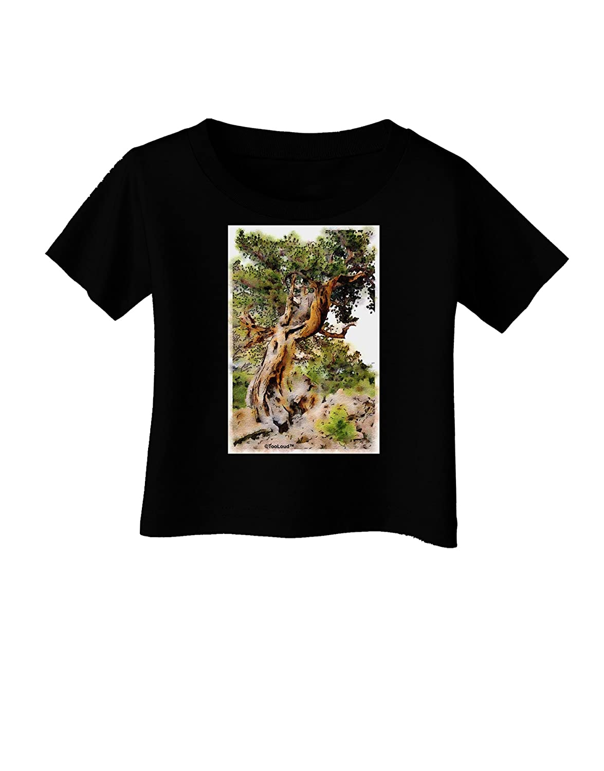 TooLoud Bristlecone Pines Infant T-Shirt Dark