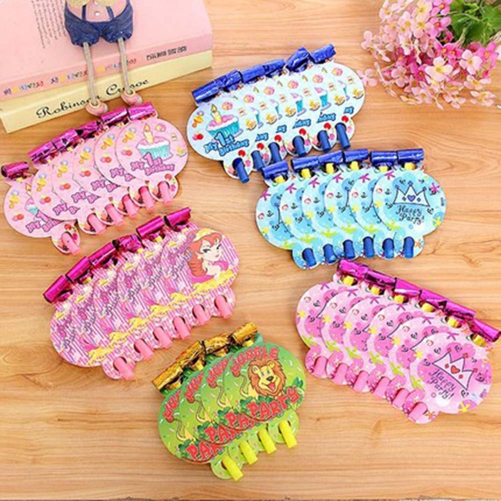 Animal, 25Pcs Lovely Non-toxic Noisemakers Party Favors For Kids by Panda Superstore (Image #2)